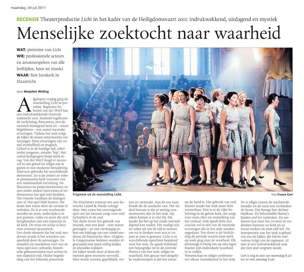 LICHT De Limburger 4 juli 2011